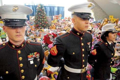 MARINES-toys for tots