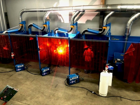 WELDING BOOTH-side-by-side